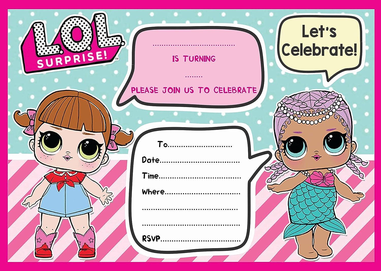 Unique Party 79124/invitations