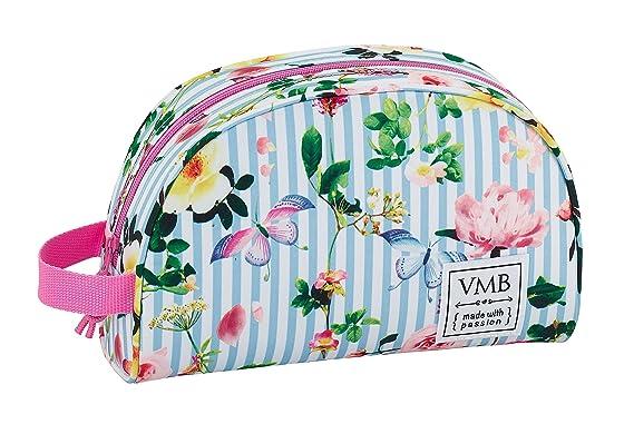 Vicky Martin Berrocal SAFTA Neceser Garden Oficial Pequeño con Asa 280x100x180mm: Amazon.es: Ropa y accesorios