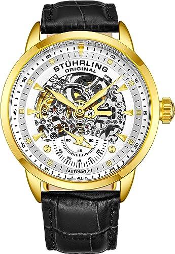 Amazon.com: Stuhrling - Reloj automático para hombre ...