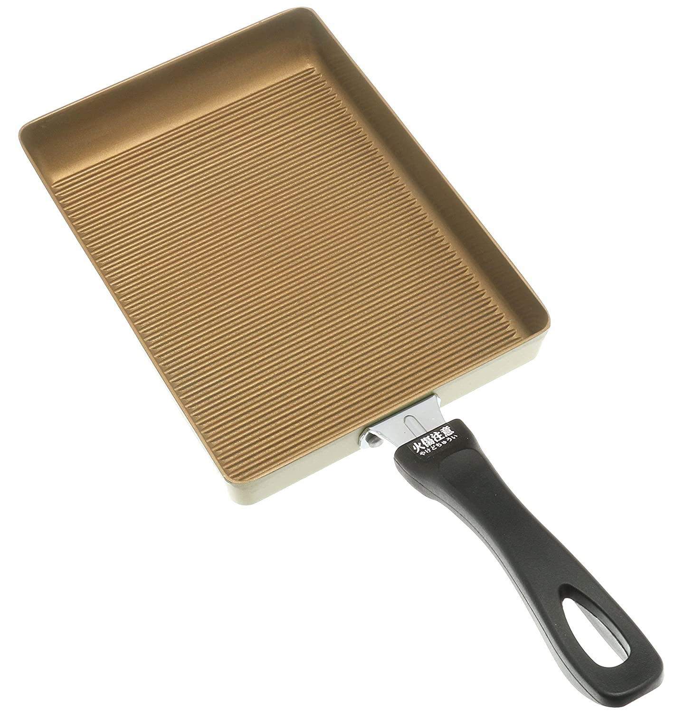 Kotobuki 410-537 Datemaki Japanese Rolled Omelette Pan Gold