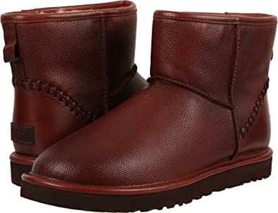 red ugg boots mini