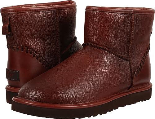 dfb26f45ddd UGG Men's Classic Mini Deco Scotch Grain Cognac Boot: Amazon.ca ...