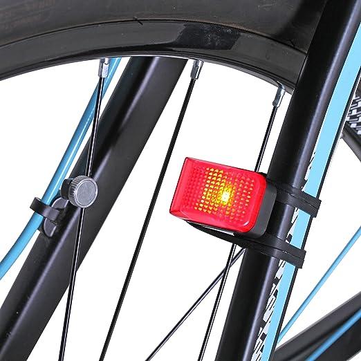 Luz trasera Lykus sin pilas para bicicleta, carga por dinamo ...