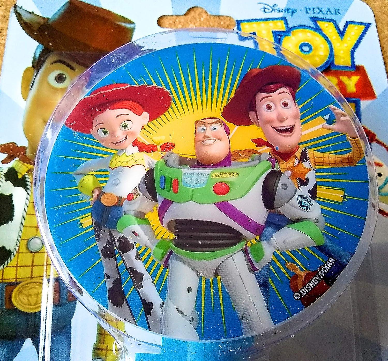 Toy Story 4 Rotary Shade LED Night Light Disney Pixar Buzz Lightyear Sheriff Woody Jessie The Cowgirl