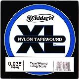 D'Addario TWB035 Nylon Tape Wound Bass Guitar