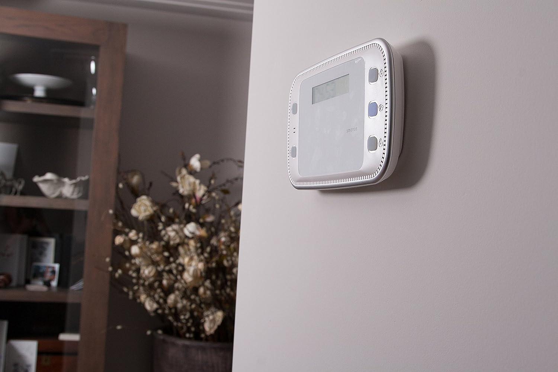 Smanos X500 X500EU-Sistema de Alarma, 3.7 V, Blanco