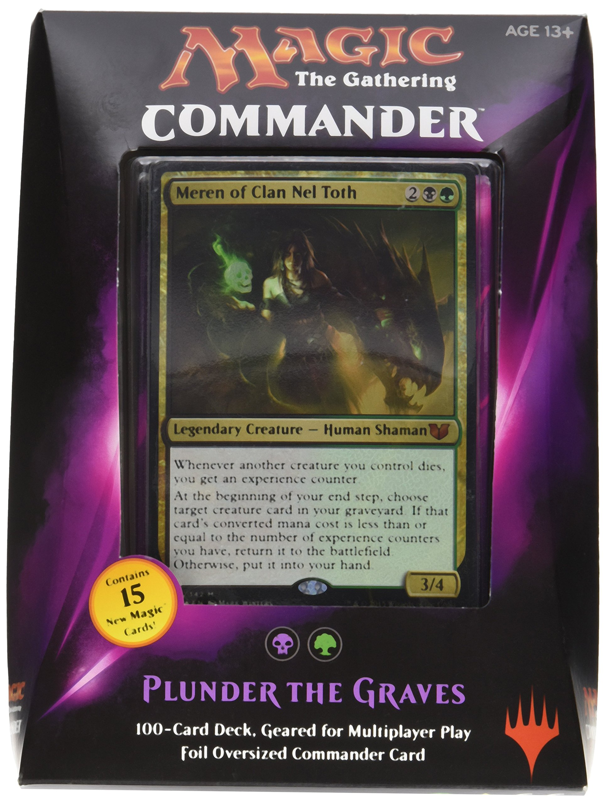 MTG Commander 2015 Edition Magic the Gathering TCG Card Game - Complete Set of All 5 Decks by Magic: the Gathering