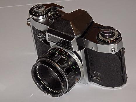 Camera Praktica Nova B – Cámara réflex analógica – SLR – Incluye ...
