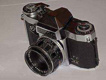 Vintage praktica super tl mm camera with hanimex mm lens etsy