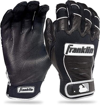 Franklin Sports MLB Digitek Batting Glove Youth Medium White//Black NEW