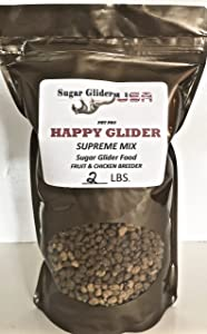 Happy Glider Supreme Sugar Glider Food(Chicken & Fruit) 2 lb.