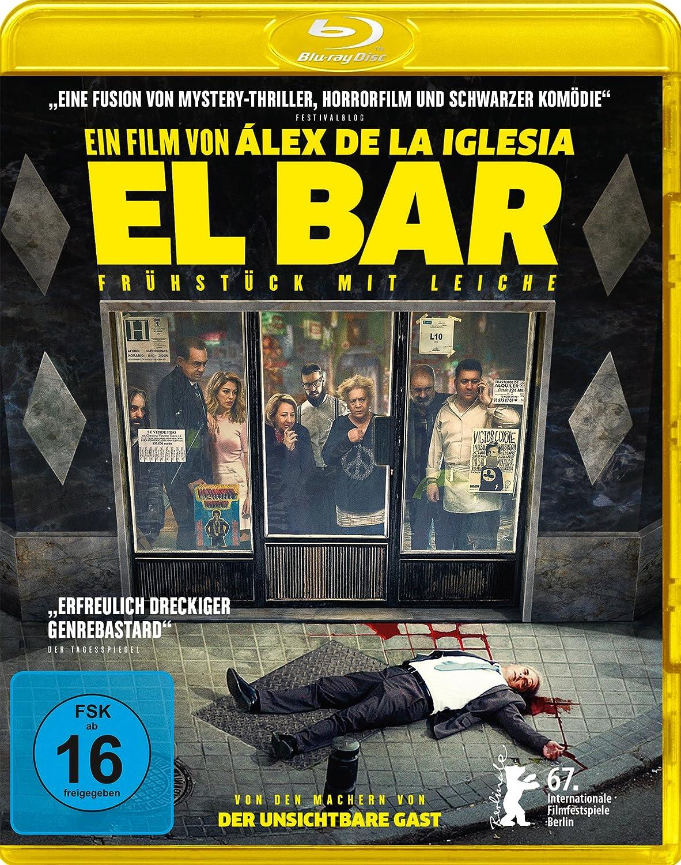 El Bar - Frühstück mit Leiche [Blu-ray]: Amazon.de: Blanca Suarez ...