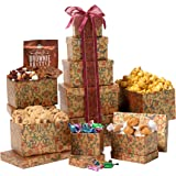 Broadway Basketeers Celebration Gift Tower