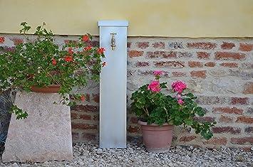 Misterzinc - fontaine de jardin en zinc YUCCA: Amazon.fr: Jardin