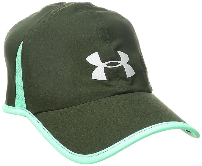 new styles fa462 92a68 Under Armour Men s Shadow 4.0 Run Cap, Artillery Green (357) Reflective,