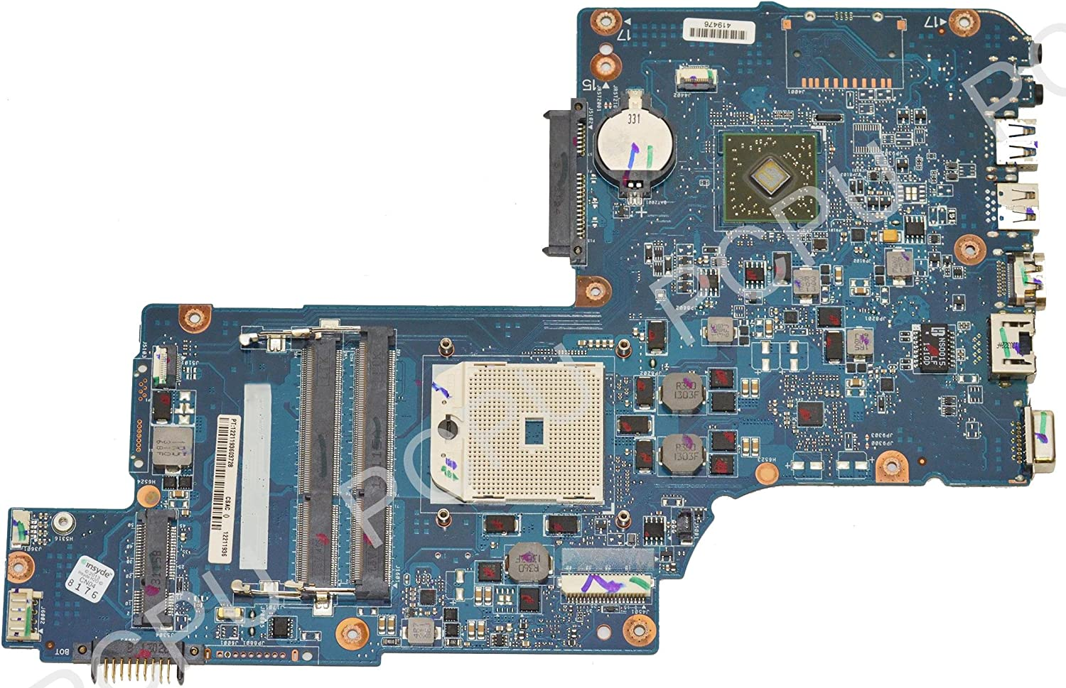 H000043850 Toshiba Satellite L875D AMD Laptop Motherboard FS1