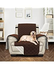 Utopia Bedding Sofa Cover with Adjustable Elastic Straps – Microfiber with Water Repellent Treatment – Non Slip Furniture Protector for Pets & Kids (NOT SUITABLE FOR LEATHER SOFA)