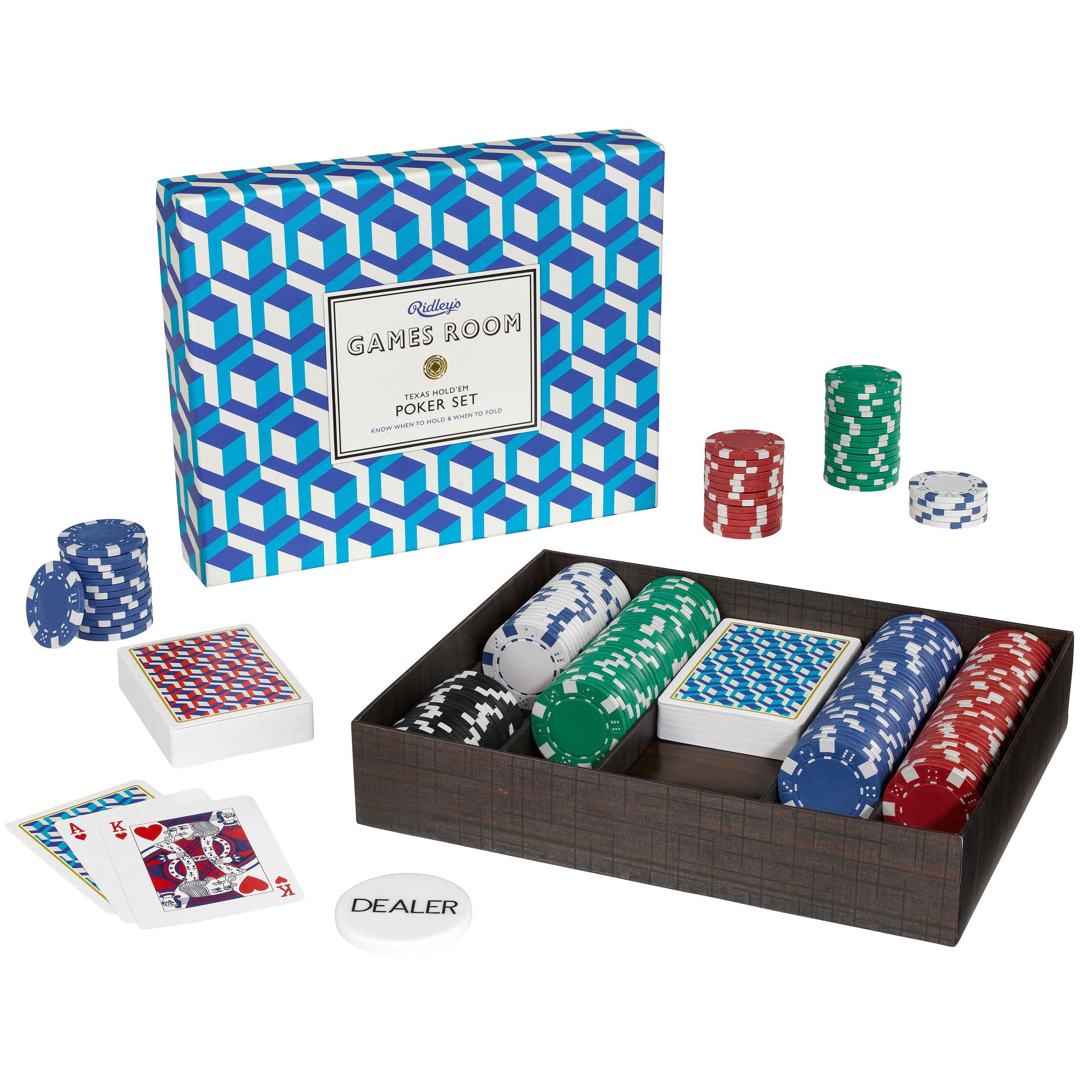 Ridley's Utopia Games Room Poker Set