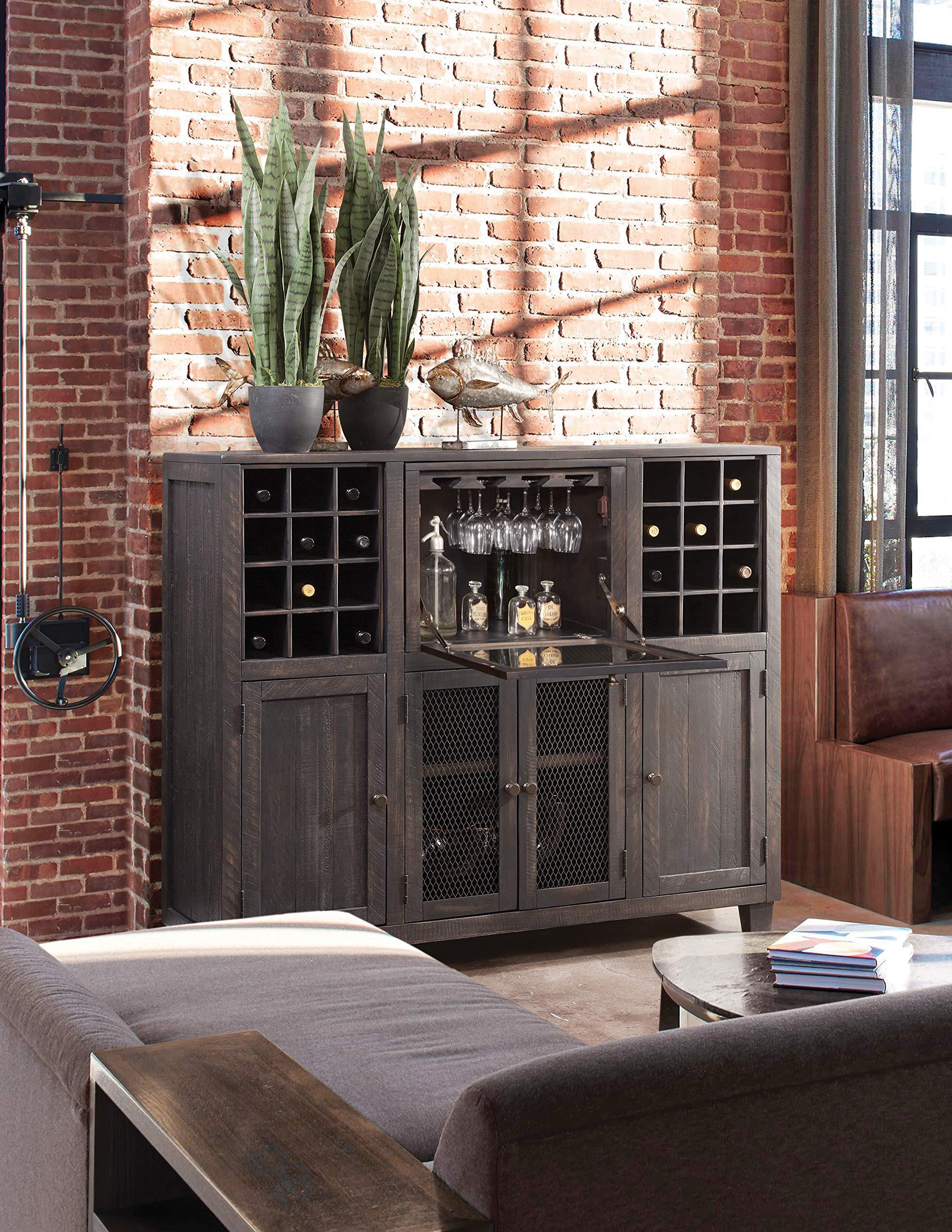 Martin Furniture IMCP300 Wine Cabinet, Brown by Martin Furniture