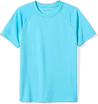 Short Sleeve Swim Shirt Essentials Boys UPF 50