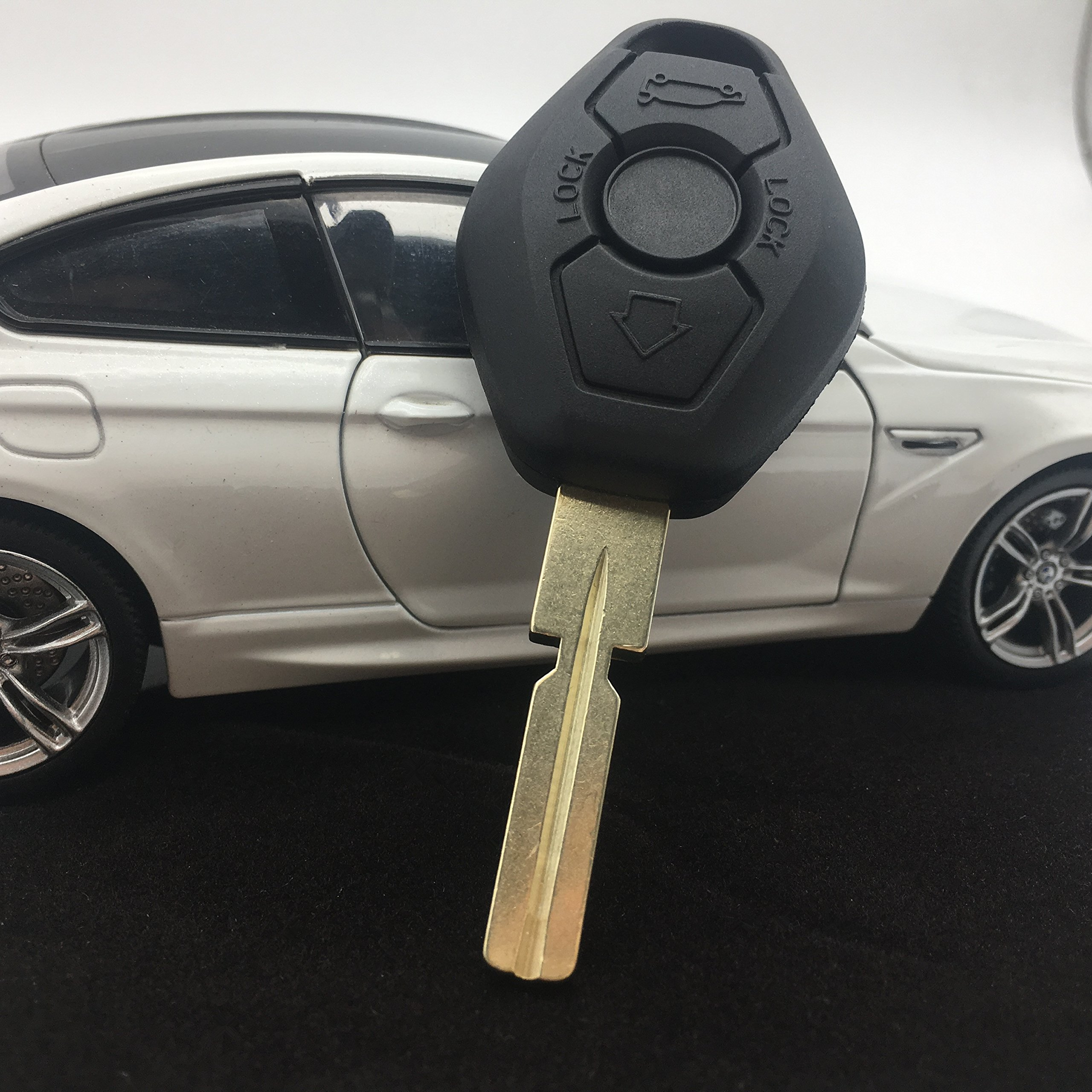 Dudely Remote Key For BMW 3 5 7 SERIES E38 E39 E46 315MHZ/433MHZ HU58 +ID44 CHIP