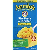 Annie's Homegrown Gluten-free Rice Pasta & Cheddar Mac & Cheese, 6-ounce Boxes-pack of 6