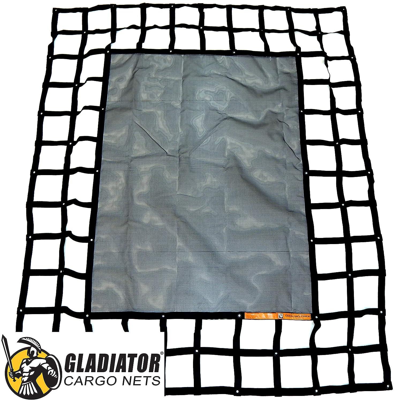 MSW-100 Gladiator Cargo Gear SafetyWeb Cargo Net Adjustable Heavy Duty Medium 6.75 x 8