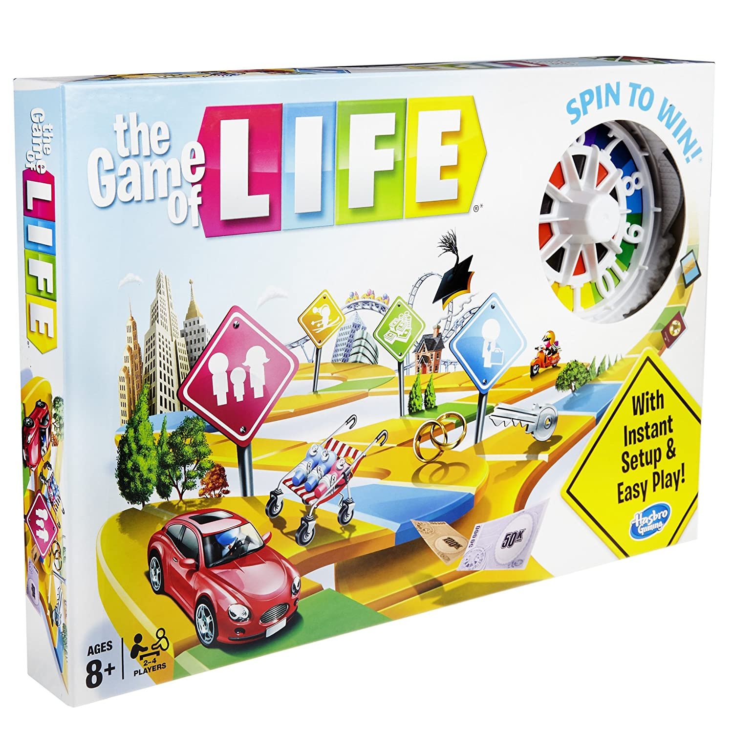 Amazon The Game of Life Game Toys & Games