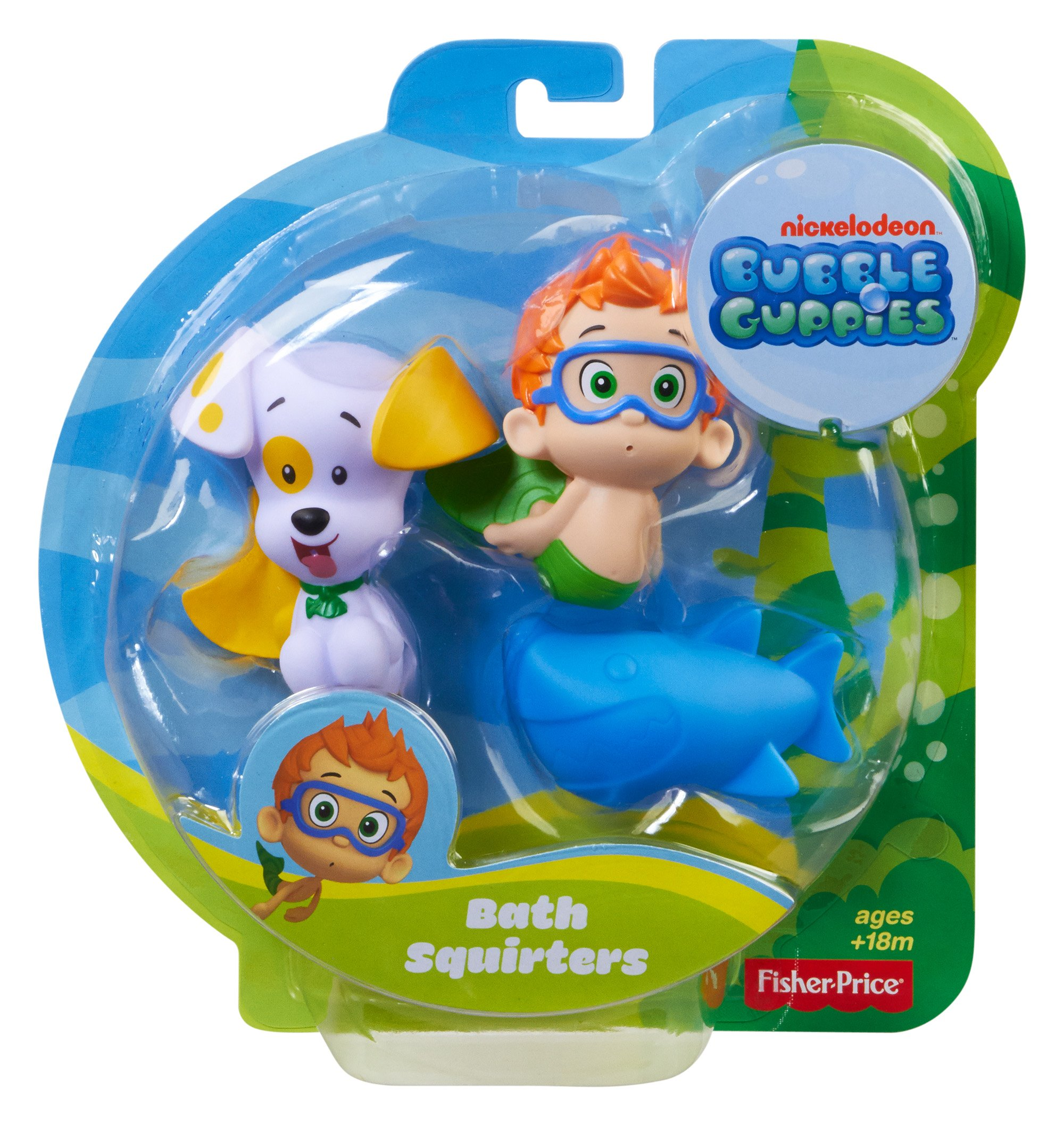 Fisher-Price Bubble Guppies, Bath Squirters: Nonny, Bubble Puppy and Shark by Fisher-Price (Image #2)