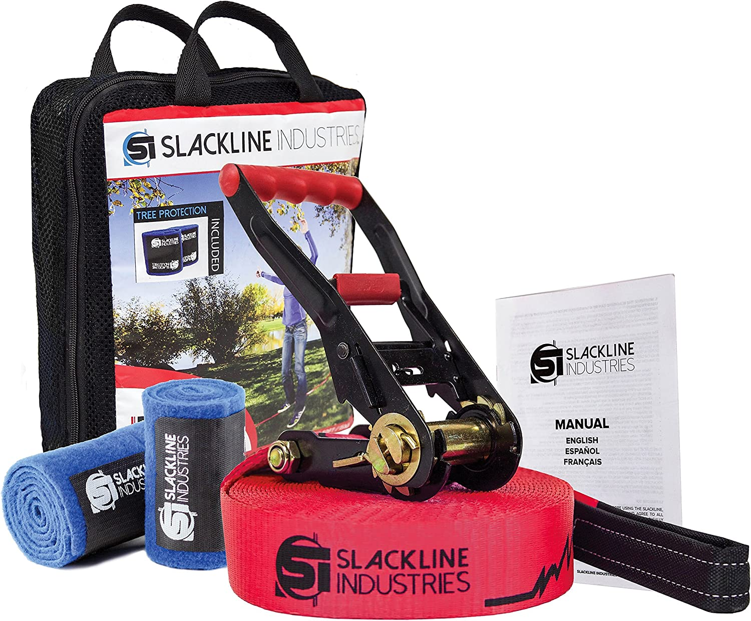 Slackline Industries Baseline Slackline Complete Kit | 10 Unexpected Gifts For Brothers That They'll Actually Like
