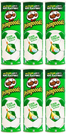 Pringles Sour Cream and Onion Crisps 165 gr. - [Pack 6]: Amazon.es ...