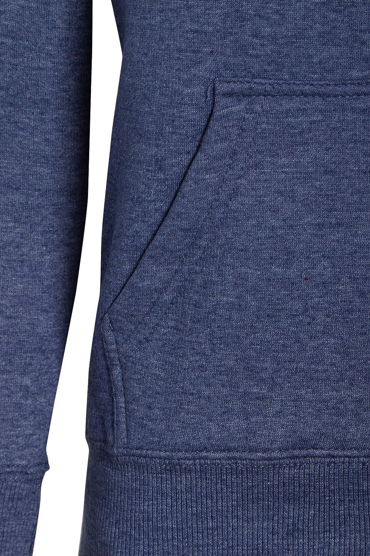 shelikes Unisex Kids Zip Up Hooded Plain Jacket Ages 5-13