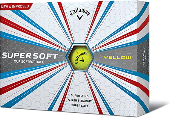 Image ofCallaway Supersoft Bolas de Golf, Unisex Adulto