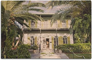product image for Lantern Press Key West, Florida - Hemingway House - Photography A-93050 (10x15 Wood Wall Sign, Wall Decor Ready to Hang)
