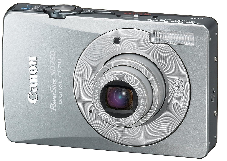 amazon com canon powershot sd750 7 1mp digital elph camera with 3x rh amazon com