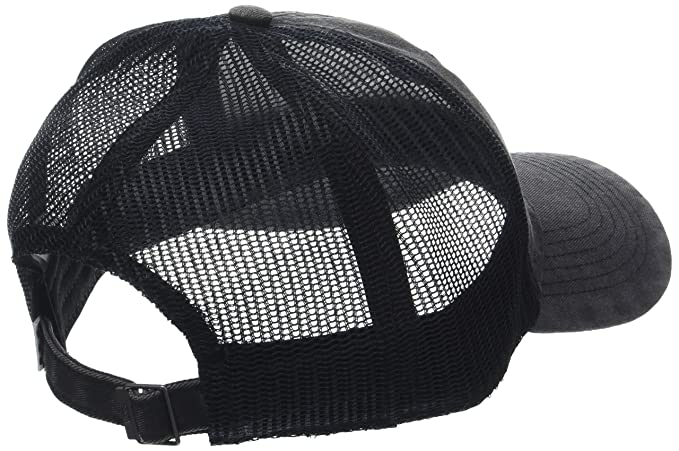 a1dd48b2a05 Amazon.com  Vans Women s Acer Trucker Hat Black OS  Clothing