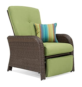 La-Z-Boy Outdoor Sawyer Resin Wicker Patio Furniture Recliner (Cilantro Green)  sc 1 st  Amazon.com & Amazon.com : La-Z-Boy Outdoor Sawyer Resin Wicker Patio Furniture ... islam-shia.org