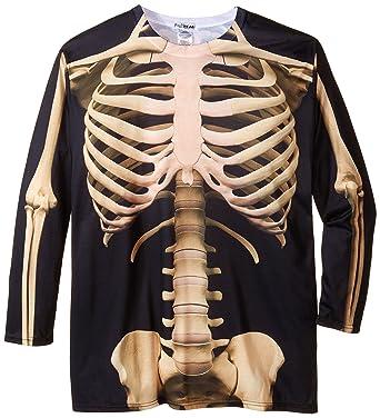 ef2527a7f6c Amazon.com  Faux Real Men s Big-Tall Big Size Skeleton