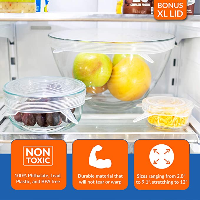 Sunrise Food Storage Airtight Containers 57 PCS BPA-Free For Refrigerator frige