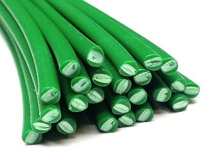 Alambre de soldadura de plástico PE-HD 4mm Redondo Verde (RAL6037) HDPE 25