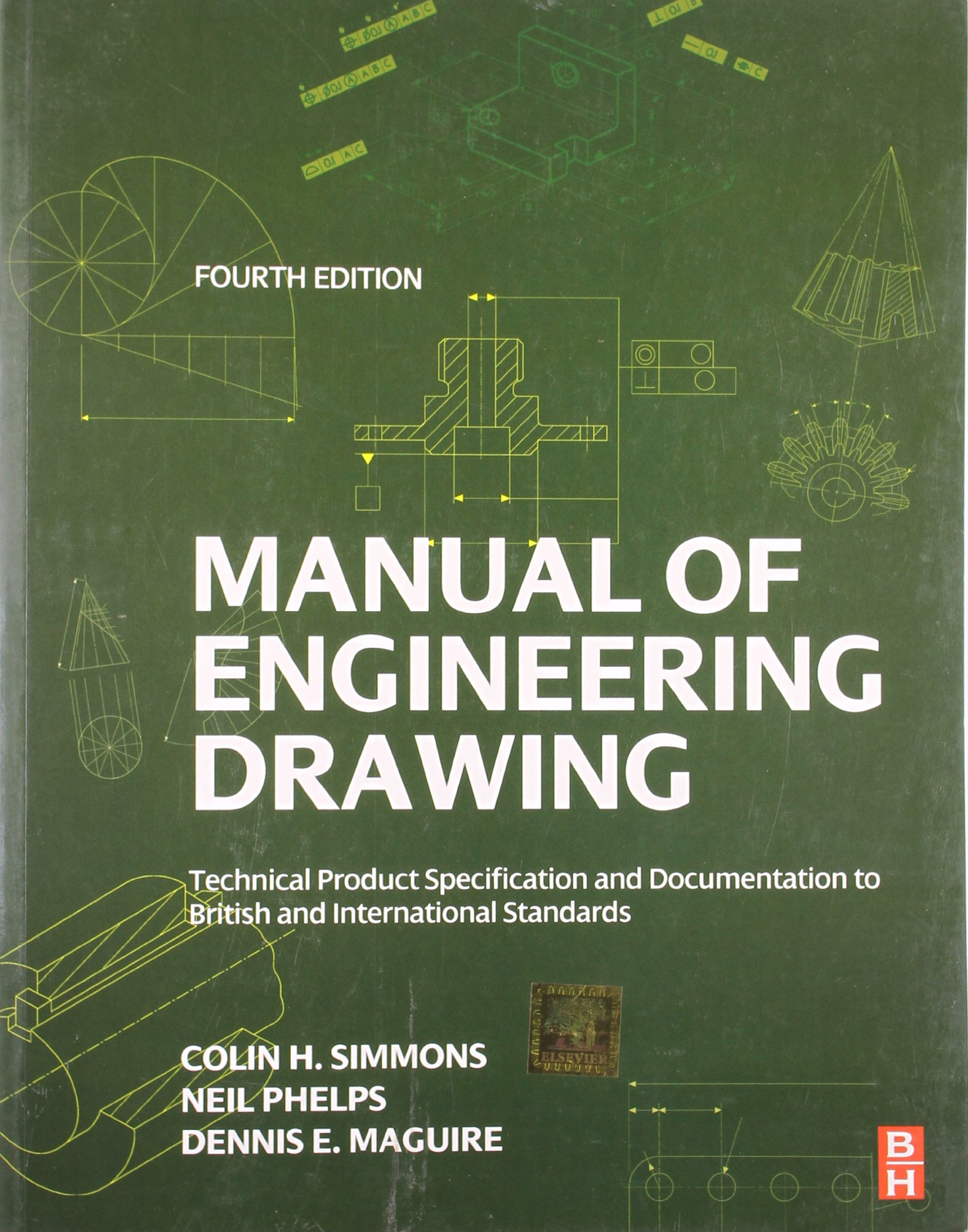 MANUAL OF ENGINEERING DRAWING, 4TH EDITION: Amazon.co.uk: Simmons:  9789382291572: Books