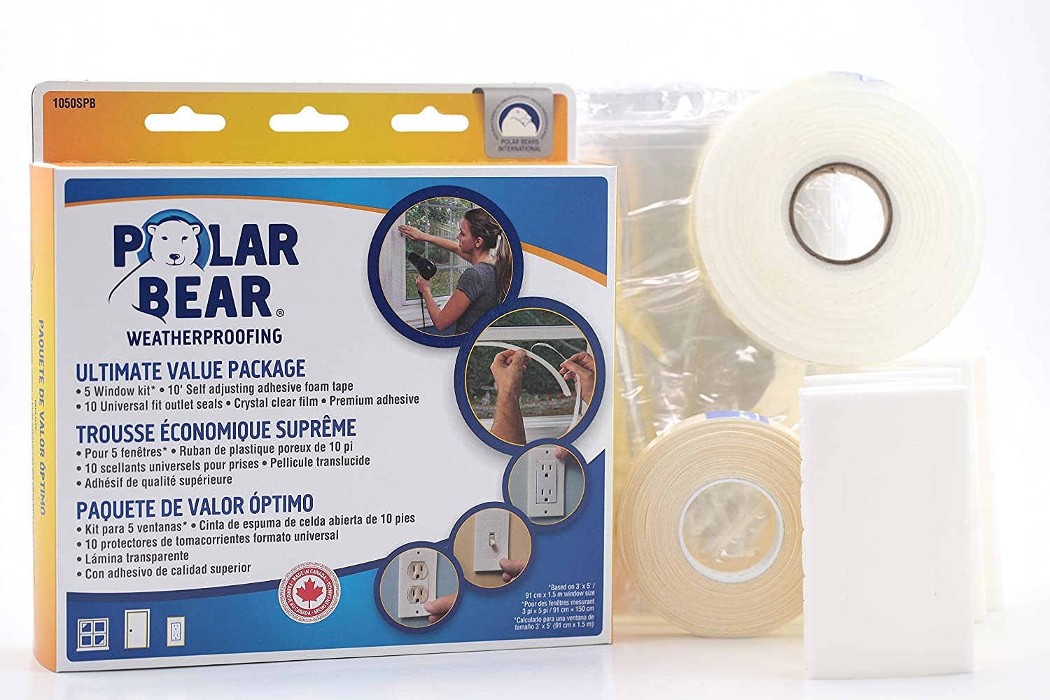 Polar Bear Weatherproofing Standard Ultimate Value Insulation Package (Value Kit) - - Amazon.com