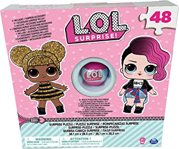 Spin Master L.O.L. Puzzle Box with Exclusive Ball - Rompecabezas ...