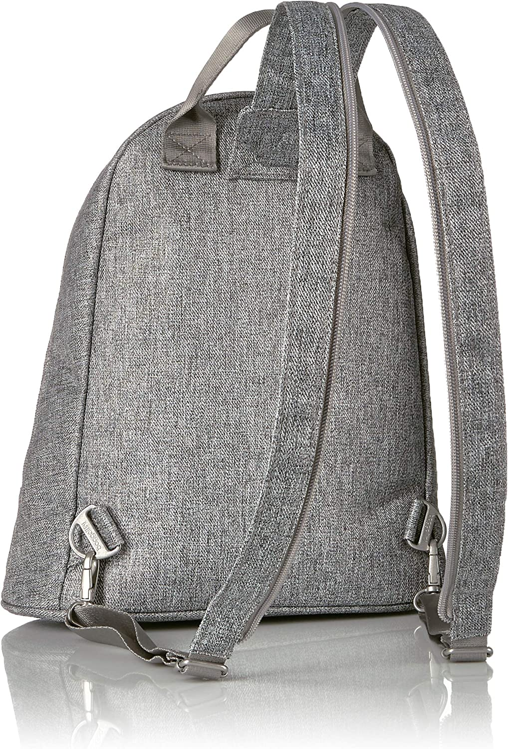 Travel Bag Converts to Wear as a Sling Mini Backpack With Gold Backpack Hardware Stylish Baggallini Dallas Lightweight