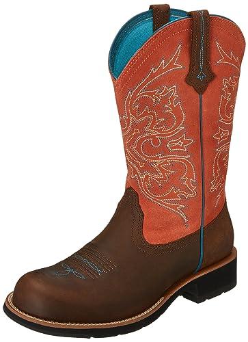 Amazon.com | Ariat Women's Fatbaby Cowgirl Tall Western Cowboy ...