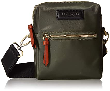 Amazon.com: Ted Baker - Mini bolsa de nailon para hombre ...