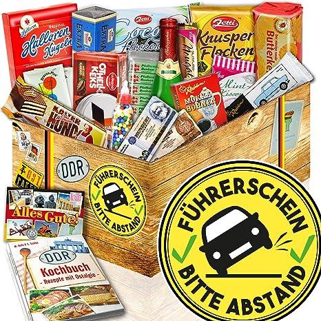 Führerschein Süßes Ostpaket Geschenkset Führerschein
