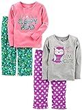Amazon Price History for:Simple Joys by Carter's Girls' Toddler 4-Piece Pajama Set