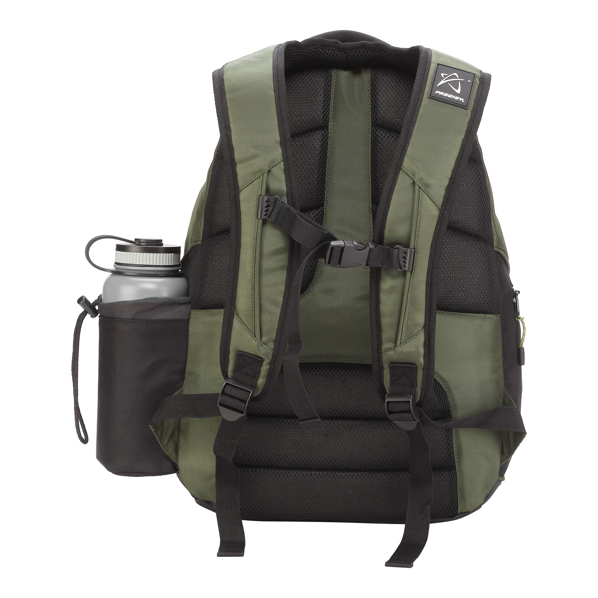 Prodigy Disc BP-3 V2 Disc Golf Backpack - Fits 17 Discs - Beginner Friendly, Affordable (Green/Black) by Prodigy Disc (Image #2)