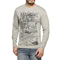 Alan Jones Clothing Men's Cotton T-Shirt (Stc-Peace-P)